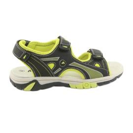 American Club Dječje sandale američkog kluba RL22 crne