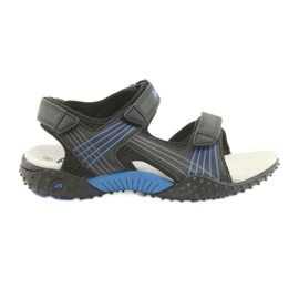 Sandale za dječake American Club HL15 crne