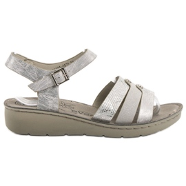 Evento siva Srebrne sandale