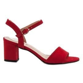 Evento crvena Sandale u baru