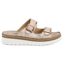Filippo Udobne kožne papuče