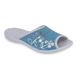 Plava Befado ženske cipele pu 254D102