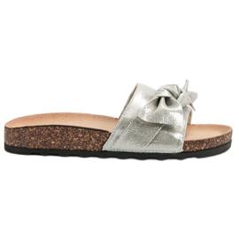 Queen Vivi szürke Hétköznapi flip flopok