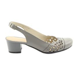Ženske sandale Gregors 771 sive siva