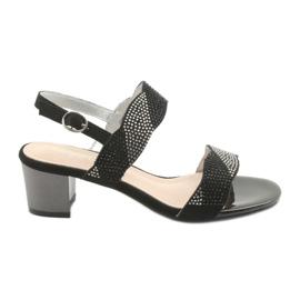 Sandale na post Sergio Leone SK795 crna
