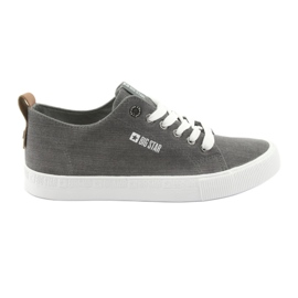 Férfi szürke cipők Big Star 174165