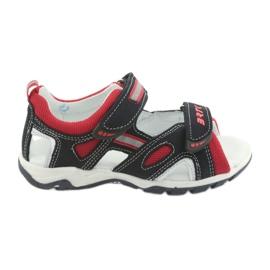 Sandale za dječačke repa Bartek 19176 mornarsko-crvene boje