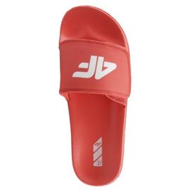 Papucs 4F Jr J4L19-JKLD200 62S piros