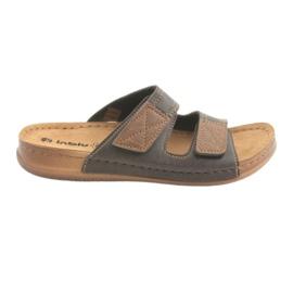 Férfi cipő Inblu TH015 barna