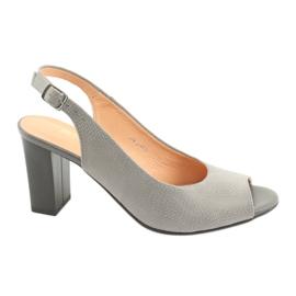 Espinto S274 ženske sandale na otvorenom sive siva