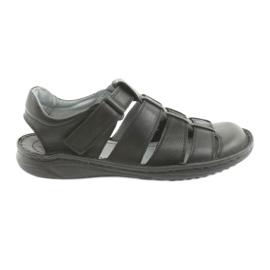 Crna Muške sportske sandale Riko 619 crne