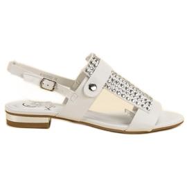 Kylie Bijele ženske sandale bijela