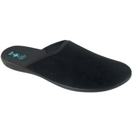 Papuče Adanex muške papuče sive siva