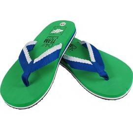 Papuče 4F M H4L19 KLM002 41S zelene zelena