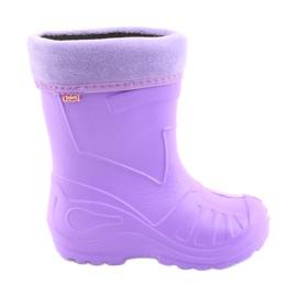 Dječje čizme za kišu Befado violet 162P102 purpurna boja