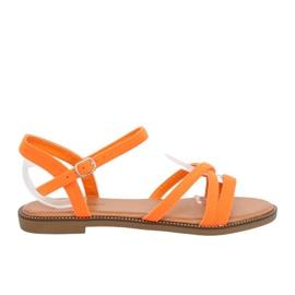 Narančasta Ženske sandale narančaste WL255 narančaste