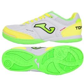 Zatvorene cipele Joma Top Flex 920 U TOPW.920.IN bijela, zelena, žuta bijela