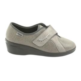 Szürke Befado női cipő pu 032D003