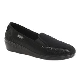 Fekete Befado női cipő pu 034D002