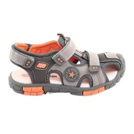 American Club Cipele Sandalka s američkim umetkom od DR02 kože