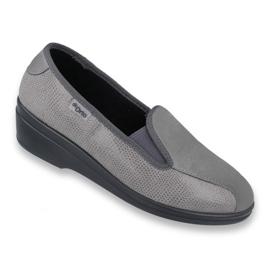 Szürke Befado női cipő pu 034D003