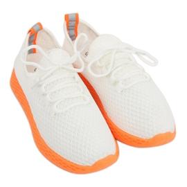 Sportske cipele bijela i narančasta NB283 Fluorescentna narančasta