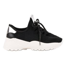 Vices crna Tekstilne sportske cipele