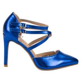 Kylie kék Fényes Divat Studs