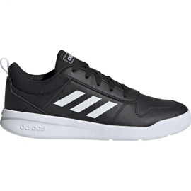 Fekete Adidas Tensaur K Jr. EF1084 cipő