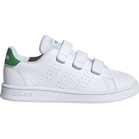 Fehér Adidas Advantage C Jr EF0223 cipő