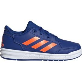 Kék Adidas AltaSport K Jr G27095 cipő