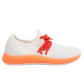 Sportske cipele bijelo-narančaste B-6851 Narančaste
