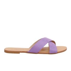 Ženske papuče ljubičaste boje 930 ljubičaste purpurna boja
