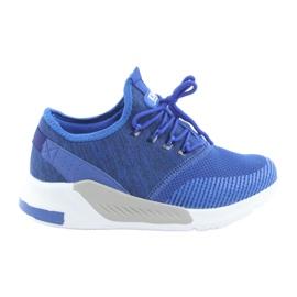 Plava Muške sportske cipele DK 18470 kraljevsko plave boje