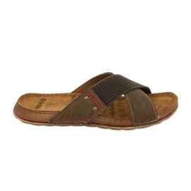 Férfi cipő Inblu GG009 barna