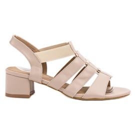 Evento barna Magas sarkú cipő