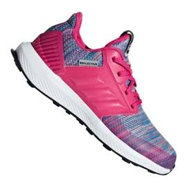 Rózsaszín Adidas RapidaRun Btw Jr AH2603 cipő