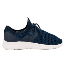 Lovery kék Airy Sports Shoes