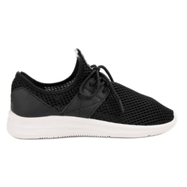 Lovery fekete Airy Sports Shoes