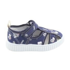 American Club Američke cipele za djecu s velcro inlay kožom