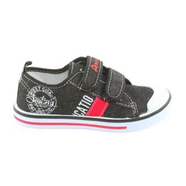 Velcro cipők American Club fekete farmer