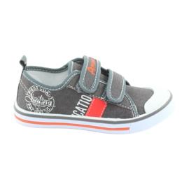 Velcro cipők American Club szürke farmer