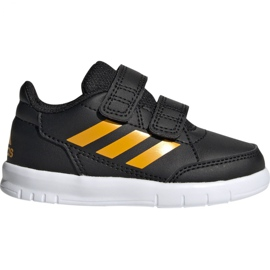 Fekete Adidas AltaSport Cf I G27107 cipő