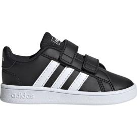 Fekete Cipők adidas Grand Court I EF0117