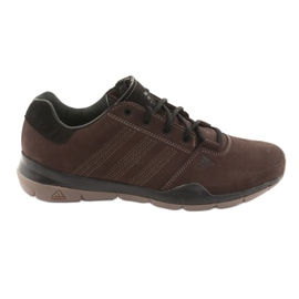 Trekking cipele adidas Anzit Dlx M18555 smeđ