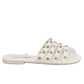 Női fehér papucs DD83P White