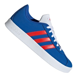 Kék Adidas Vl Court 2.0 Jr EE6902 cipő