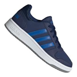 Haditengerészet Adidas Hoops 2,0 K Jr EE8999 cipő