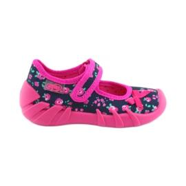 Dječje papuče Befado 109p181 ružičaste