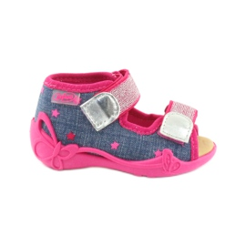 Papuče Befado sandale od kože